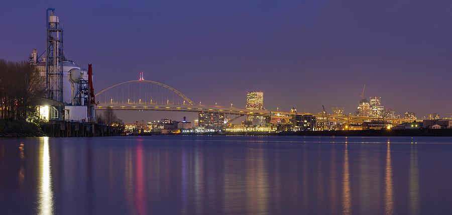 Portland Photograph - Purple Hour by David Gn