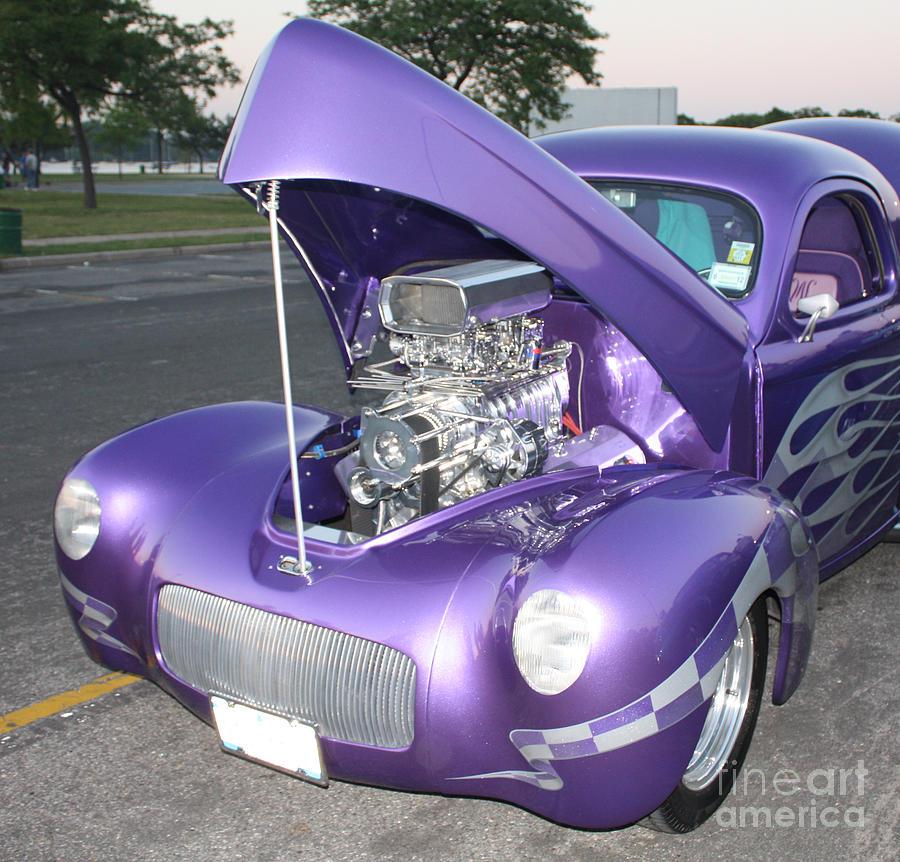 Purple Monster Photograph - Purple Monster by John Telfer