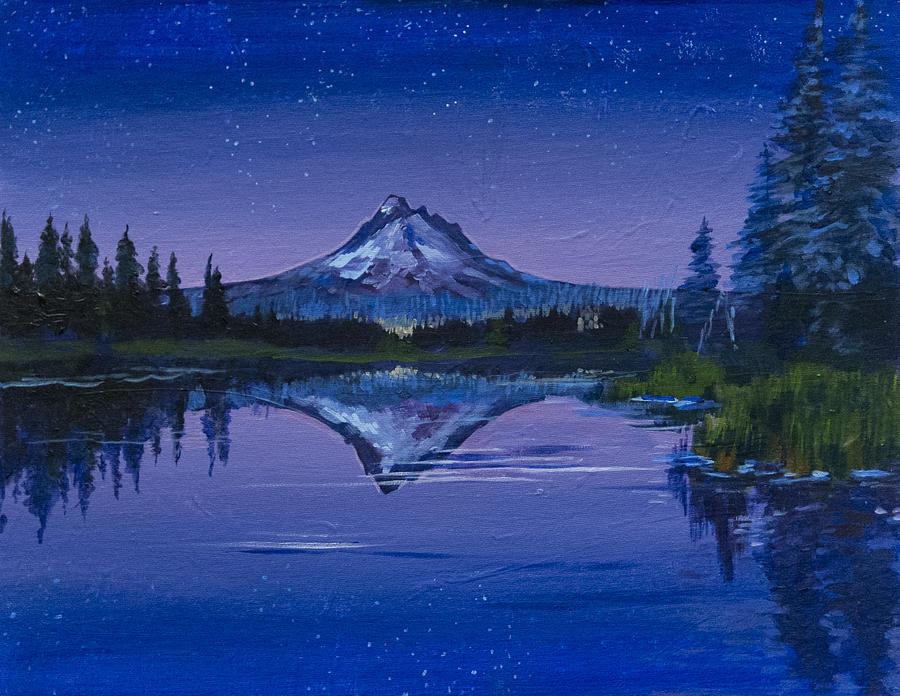 Purple Mountain by Richard Fritz