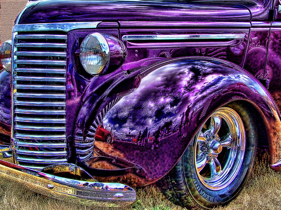 Purple Photograph - Purple by Ron Roberts