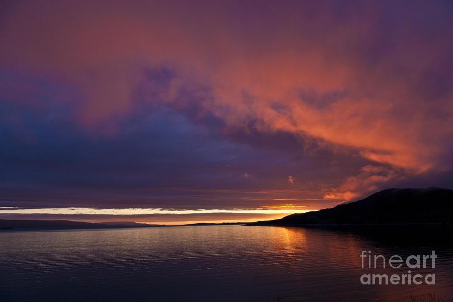 Purple Skies Photograph