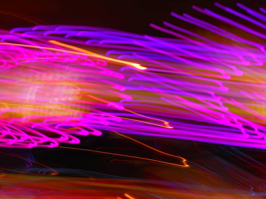 Abstract Photograph - Purple Storm by James Welch