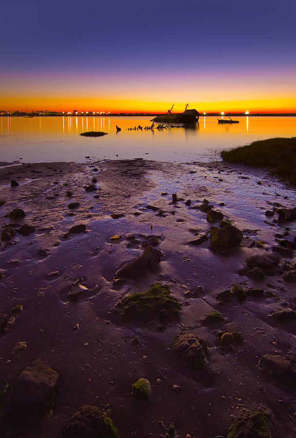 Purple Sunset Photograph
