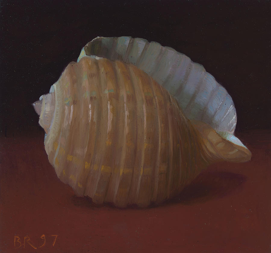 Shells Painting - Purplesnake by Ben Rikken