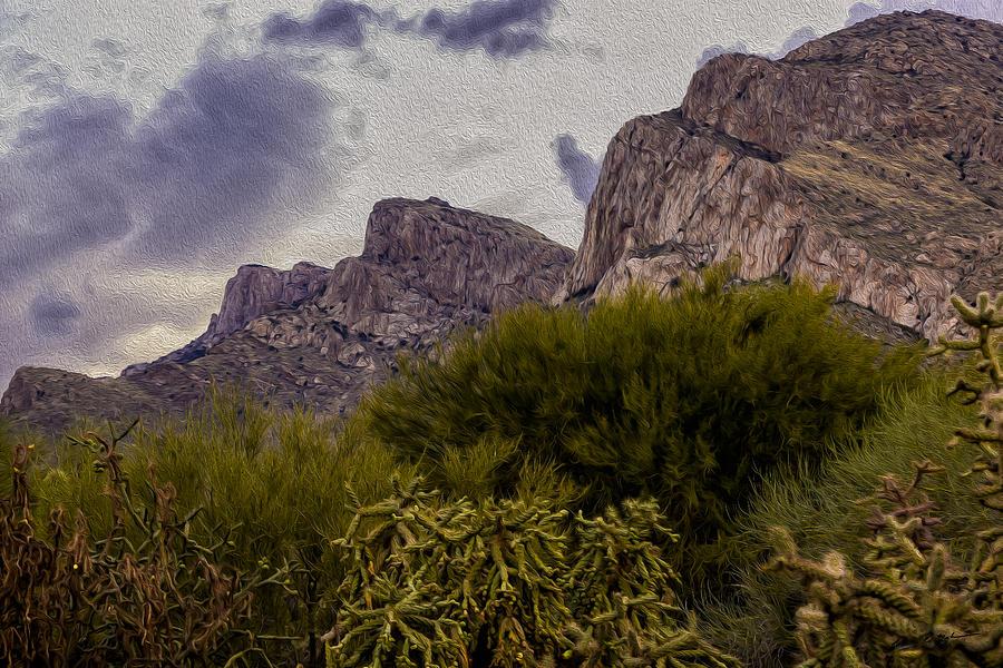 Pusch Ridge Peaks Photograph