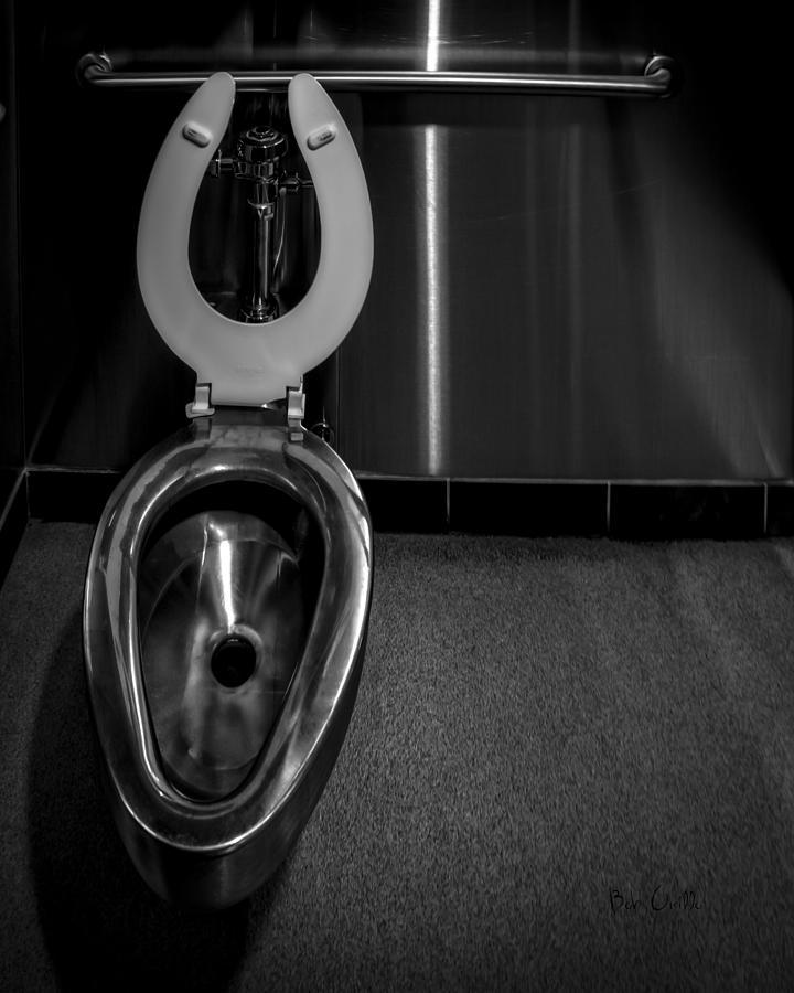 Bathroom Photograph - Put Down The Dam Seat by Bob Orsillo