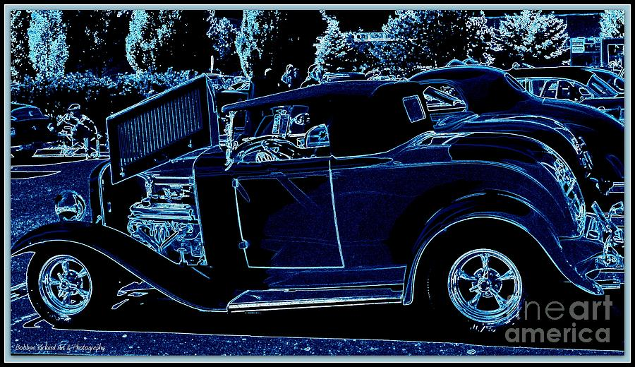 Acrylic Prints Photograph - Put The Top Down by Bobbee Rickard