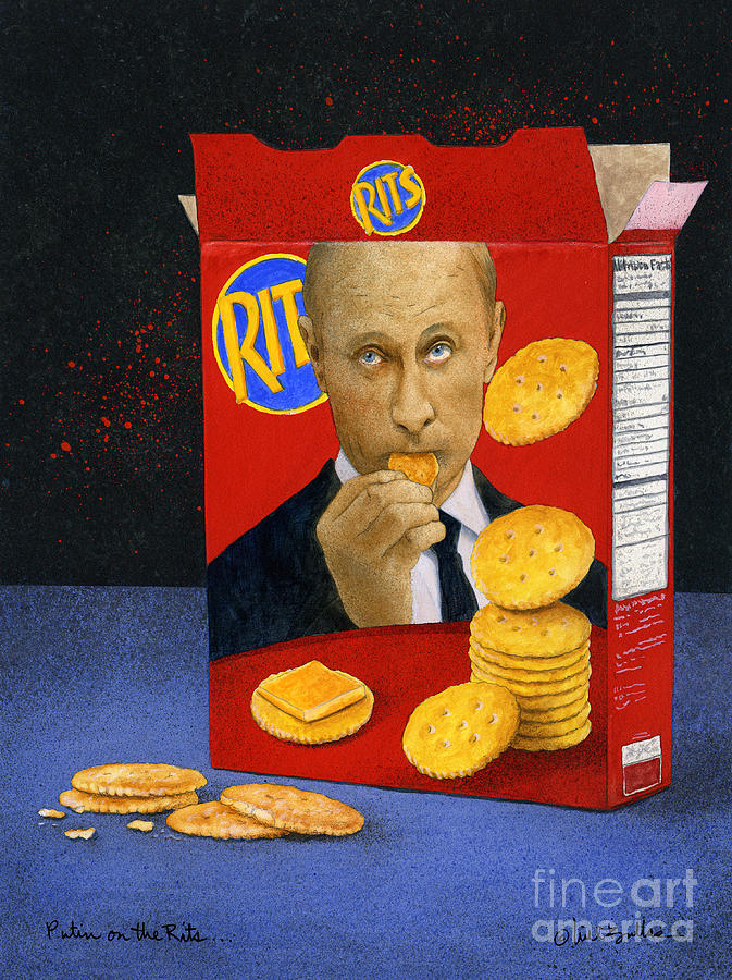 Putin on the Rits... by Will Bullas