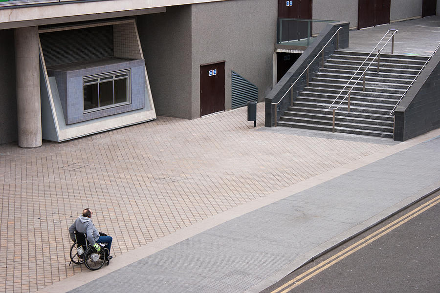 Disabled Photograph - Puzzled by Marcel Huibers