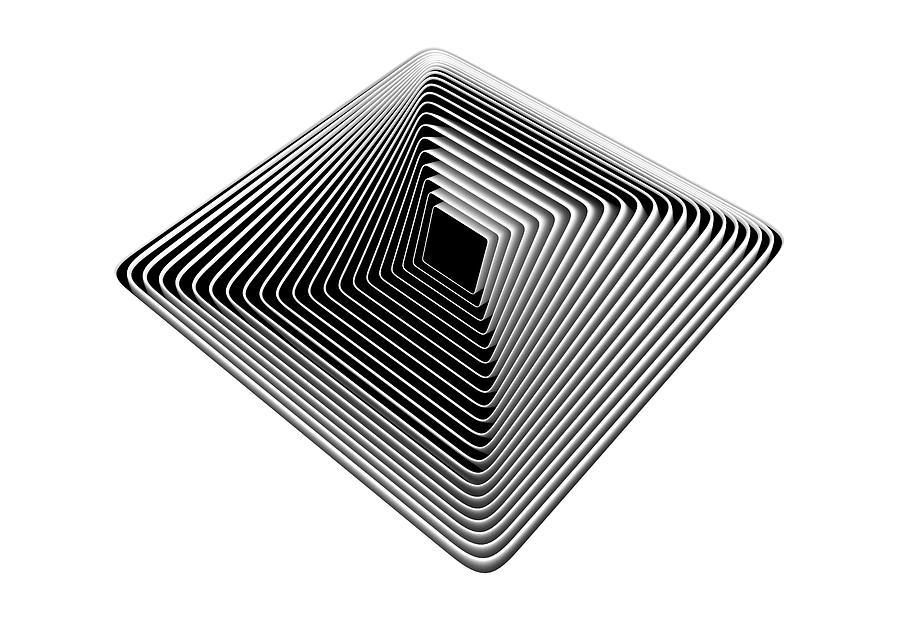 Pyramid Digital Art - Pyramid by David Ridley
