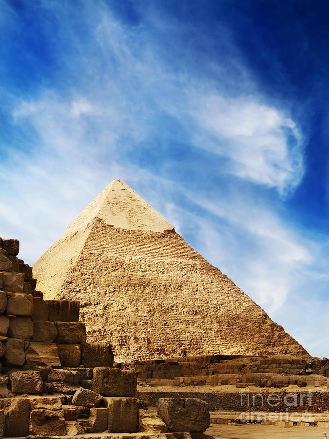 Egypt Pyrography - Pyramids In Egypt  by Jelena Jovanovic