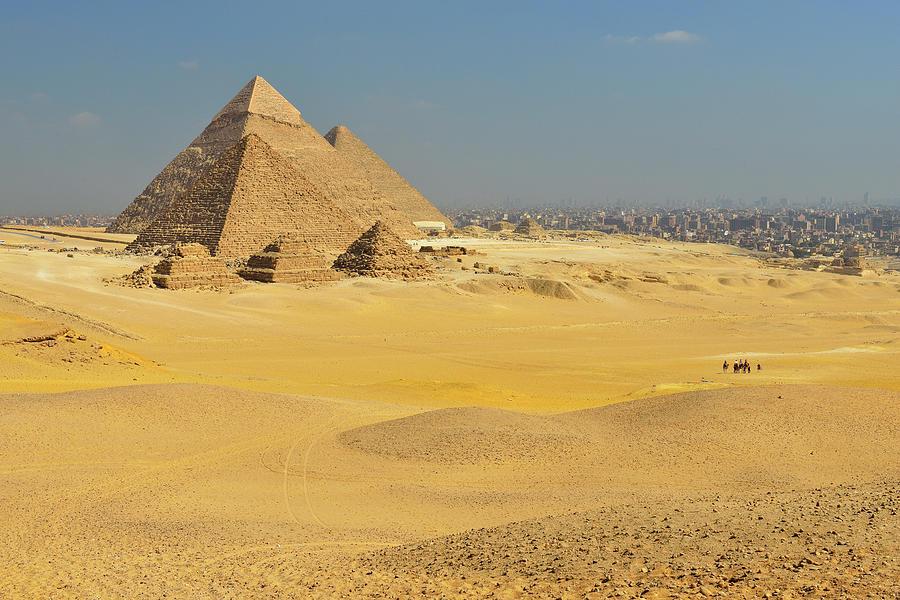 Pyramids Of Giza Photograph by Raimund Linke