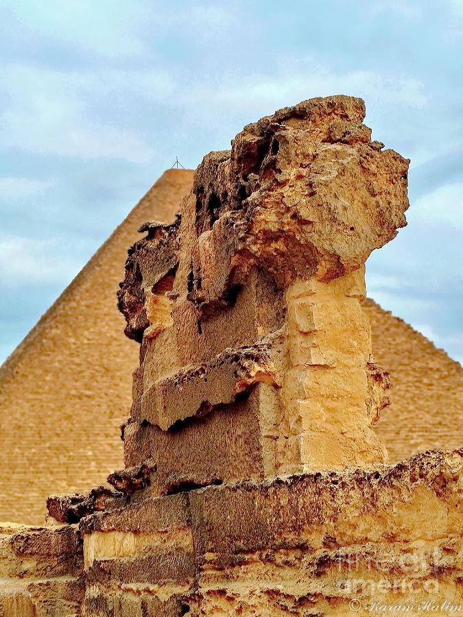 Photograph - Pyramids Temple  by Karam Halim