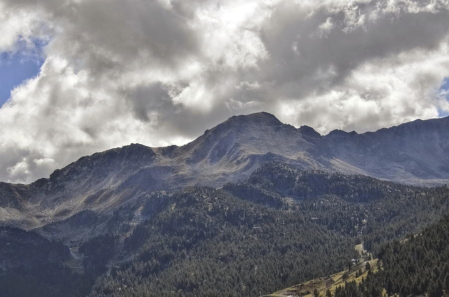 France Photograph - Pyrenees Mountains by Linda C Johnson