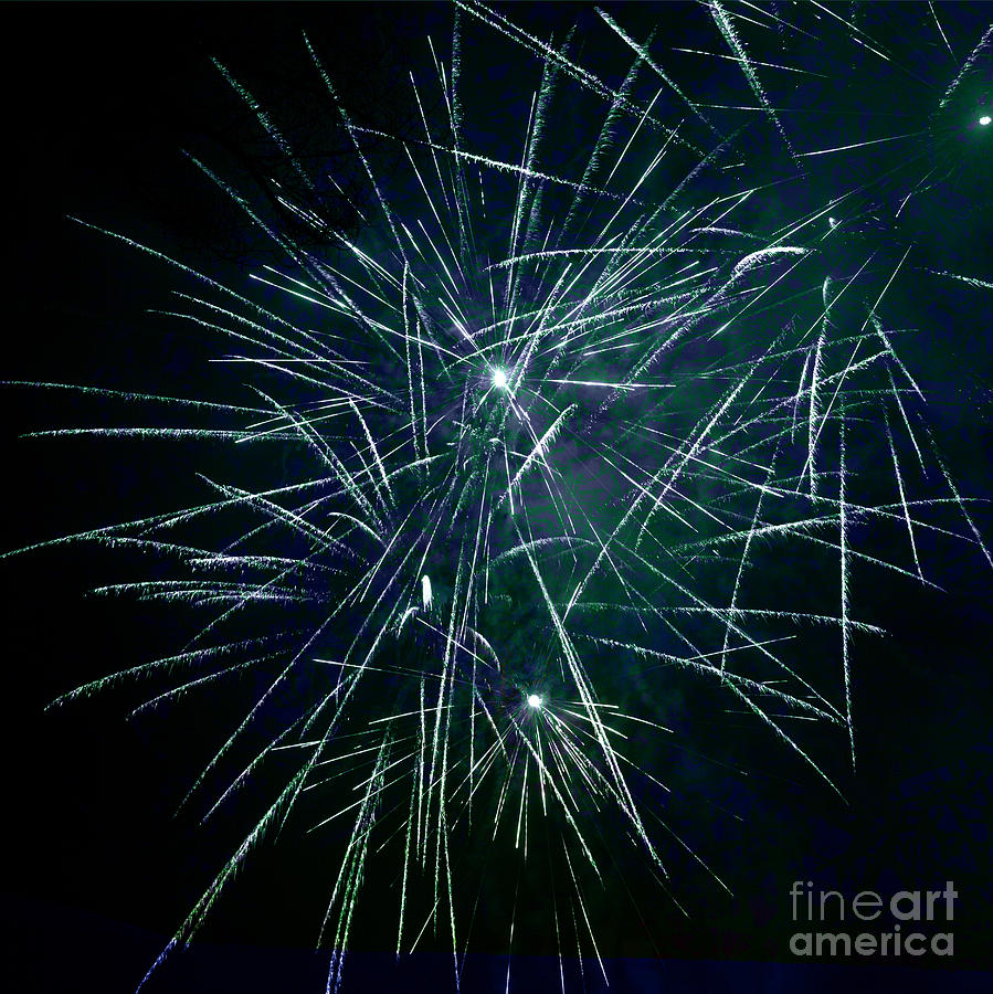 Pyrotechnics Photograph - Pyrotechnic Delight by John Stephens
