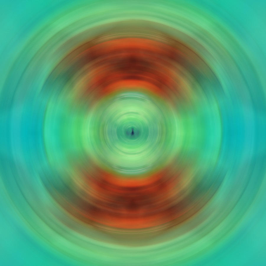 Abstract Painting - Qi - Energy Art By Sharon Cummings by Sharon Cummings