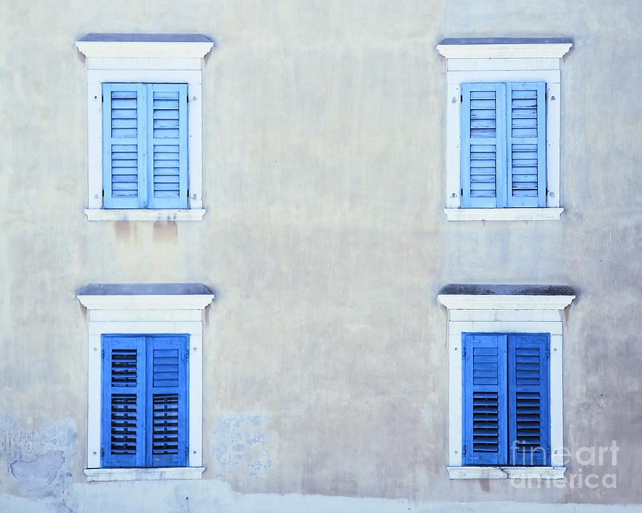 Quad Windows by Kate McKenna