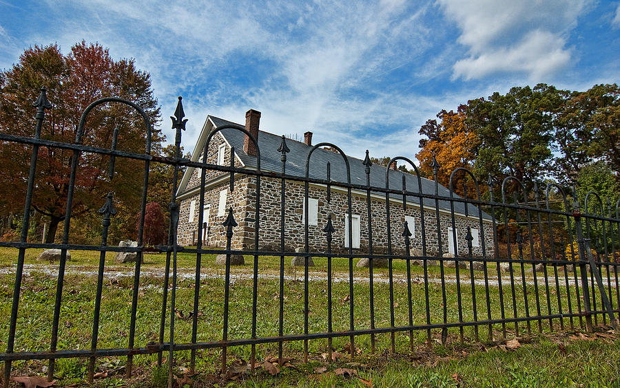 Quaker Photograph - Quaker Meeting House - Warrington by Mark Jordan
