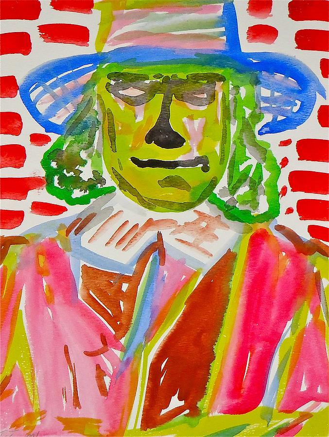 Quaker Oats Man Painting - Quaker Oats by Troy Thomas