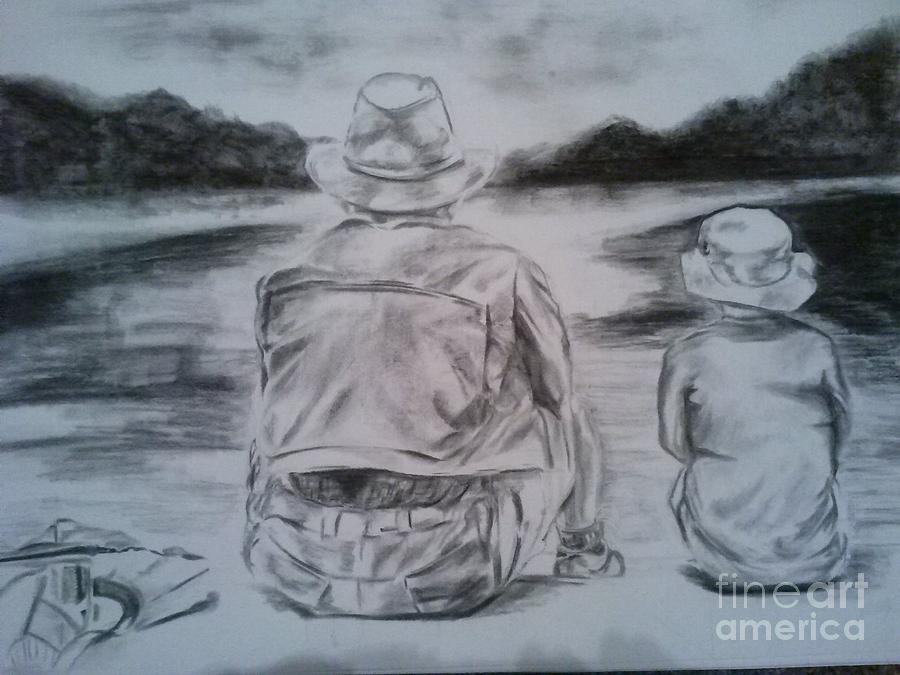 Quality Time Drawing by Oshetha Shakoor