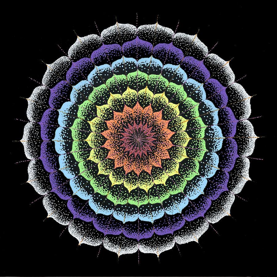 Quan Yin Painting - Quan Yins Healing by Keiko Katsuta