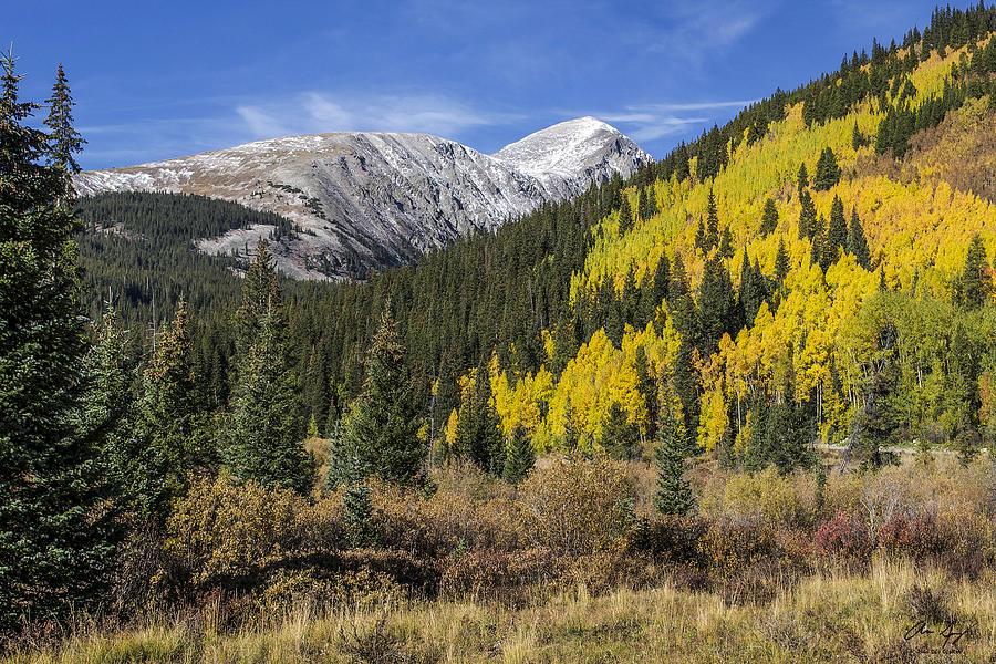 Quandary Photograph - Quandary Peak by Aaron Spong