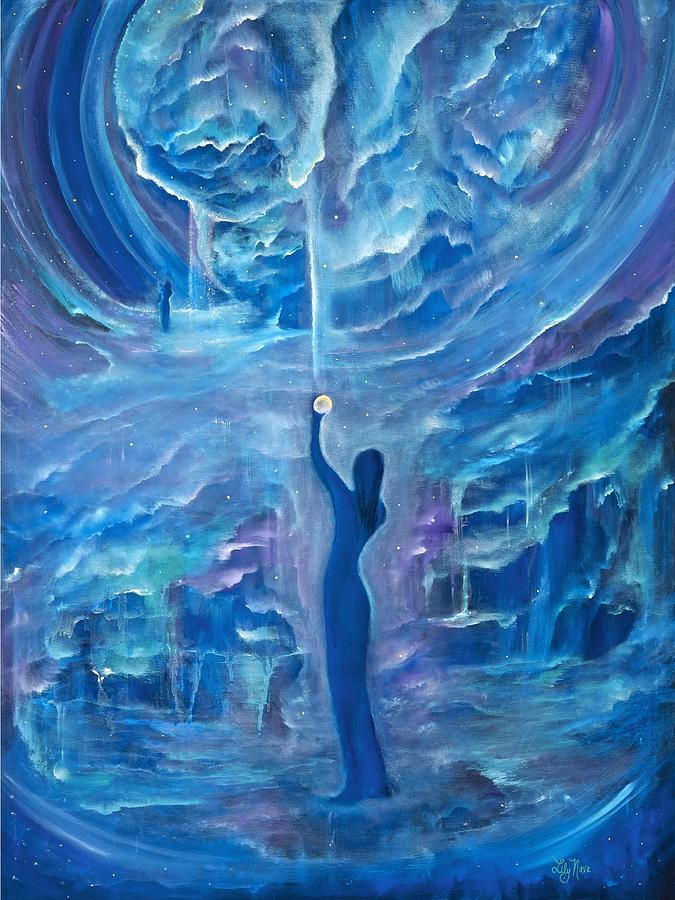 Quantum Painting - Quantum Awakening by Lily Nava