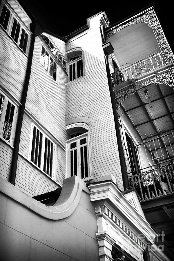 Building Photograph - Quarter Angles by John Rizzuto