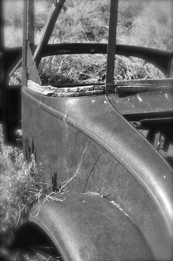 Car Photograph - Quarter Panel by Shelley Ewer