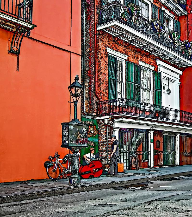 French Quarter Photograph - Quarter Time Painted 2 by Steve Harrington