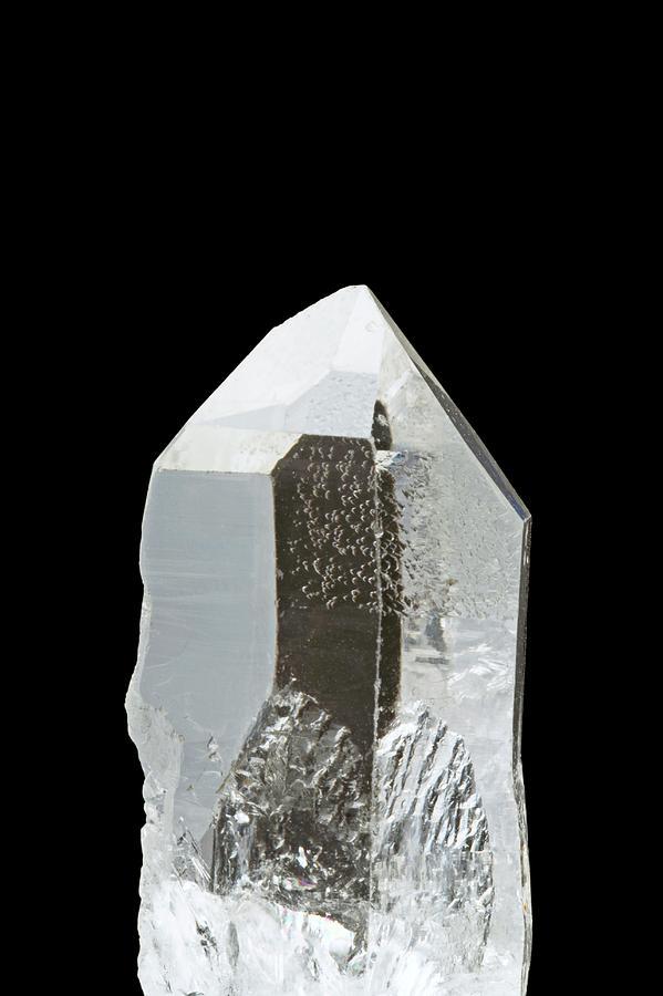 Quartz Crystals Photograph by Michael Clutson/science ...Quartz Crystal Science