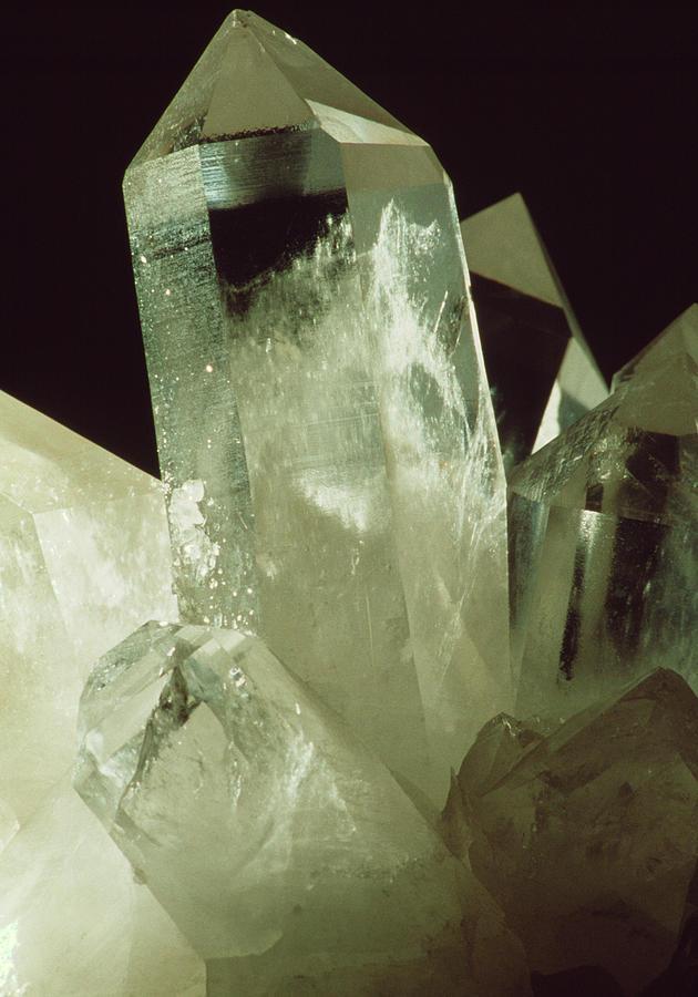 Quartz Crystals Photograph by Th Foto-werbung/science ...Quartz Crystal Science