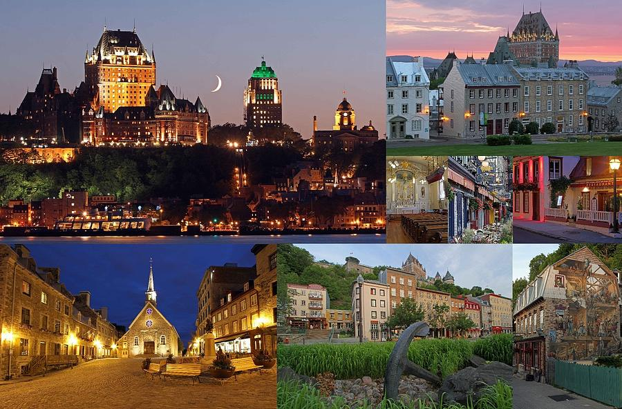 Quebec City Photograph - Quebec City by Juergen Roth
