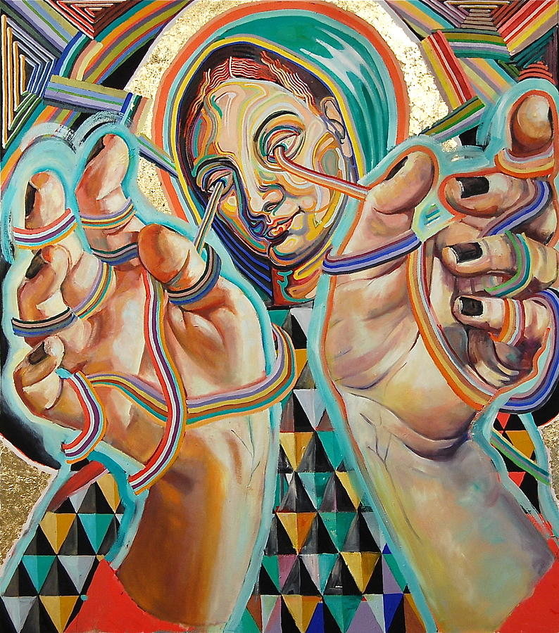 Queen Painting - Queen by Britt Kuechenmeister
