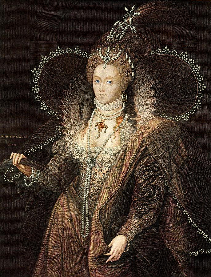 Queen Elizabeth I Drawing by Duncan1890
