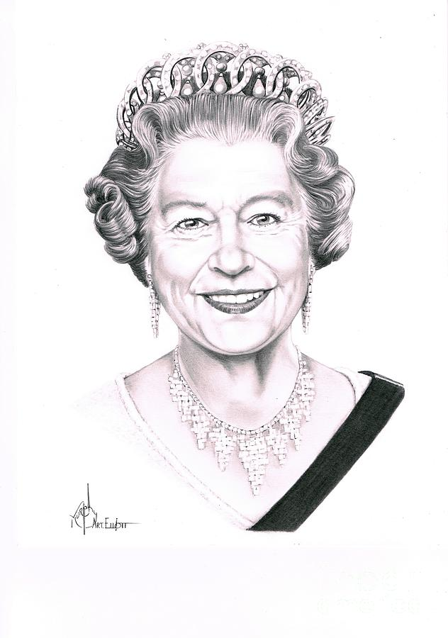 Pencil Sketches Of Queen