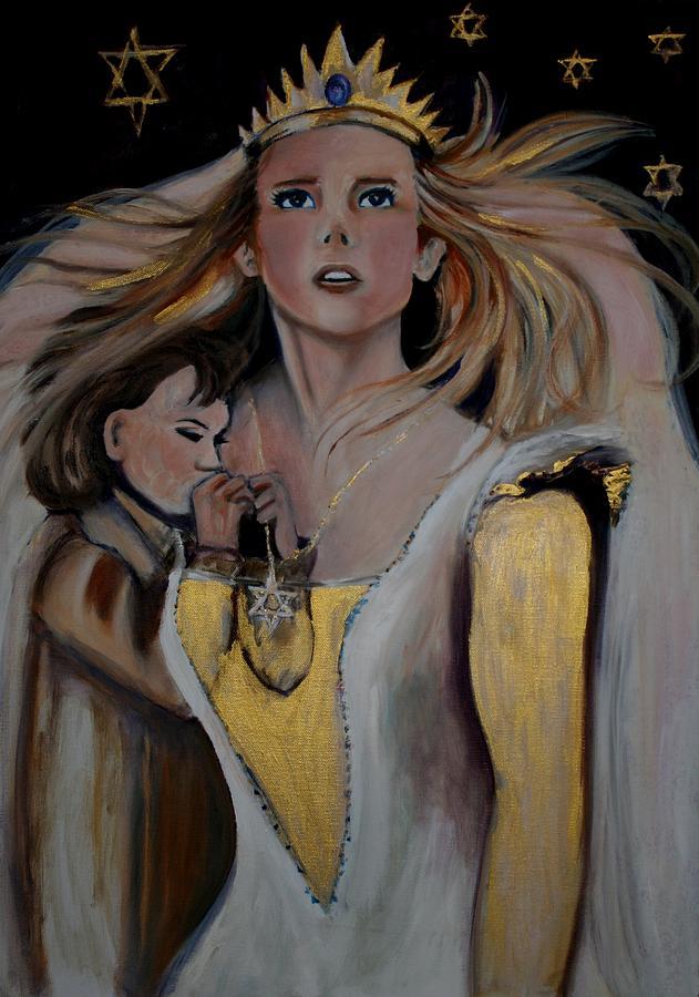 Queen Esther Painting By Elani Van Der Merwe