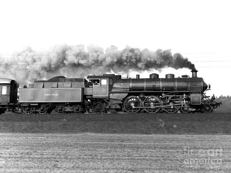 Bavaria Photograph - Queen Of Steam by Joachim Kraus