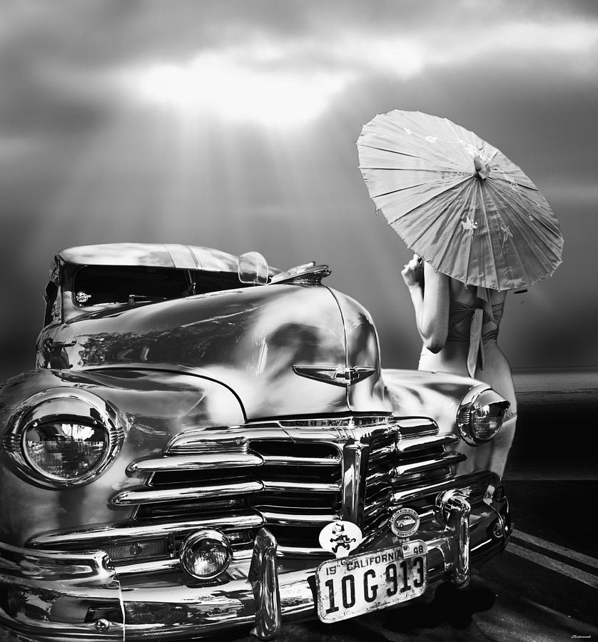 Surrealism Digital Art - Queen Of The Highway by Larry Butterworth
