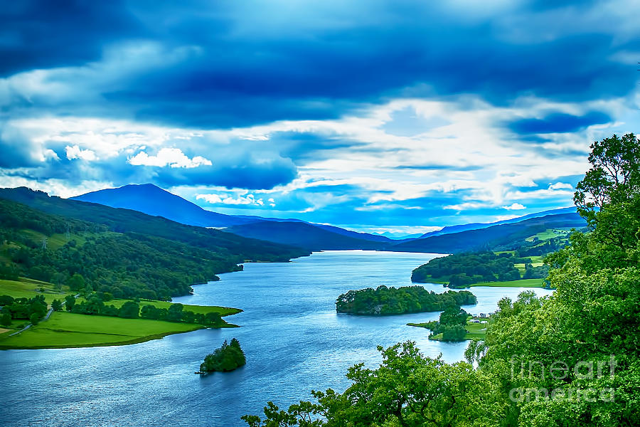 Queens View Loch Tummel Photograph