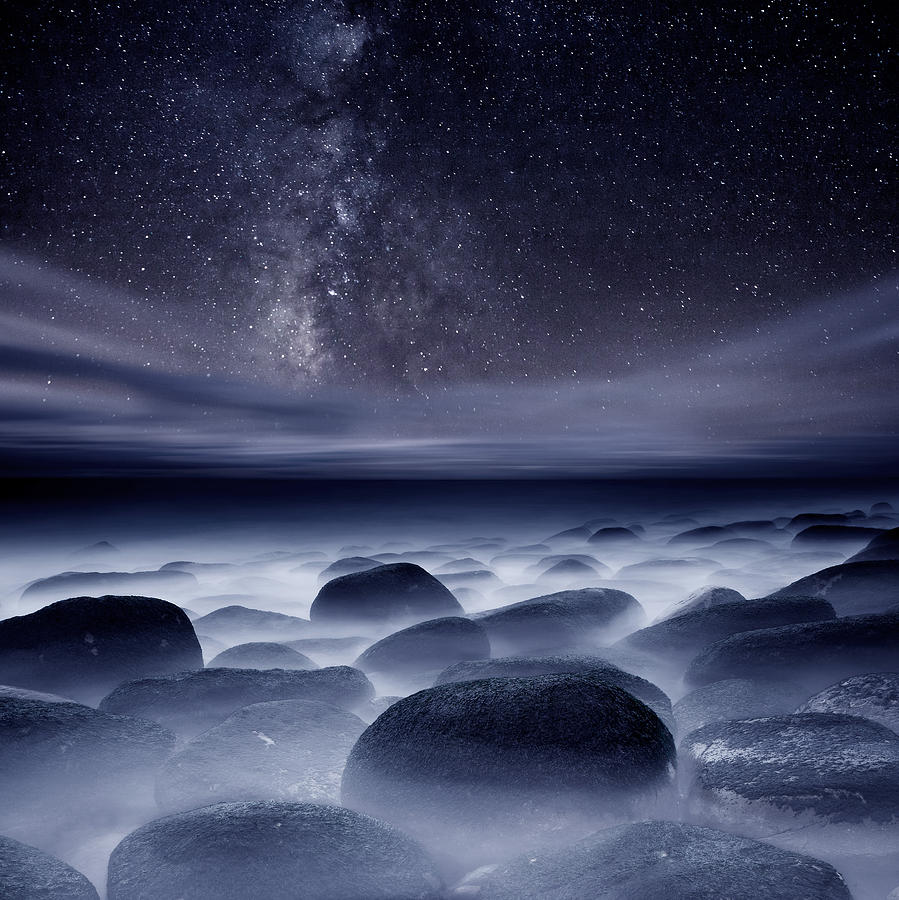 Night Photograph - Quest For The Unknown by Jorge Maia