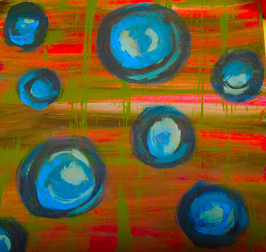 Paint Painting - Quiet Chaos by Jennifer Stone