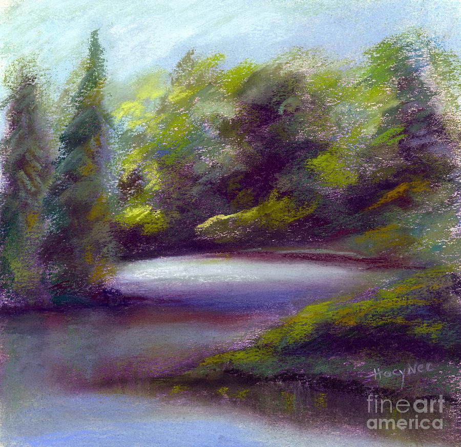 Cove Pastel - Quiet Cove by Addie Hocynec
