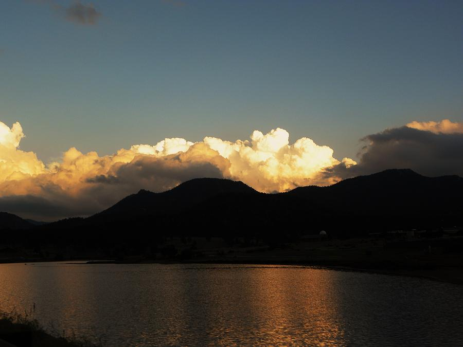 Clouds Photograph - Quiet Evening by Christian Rooney