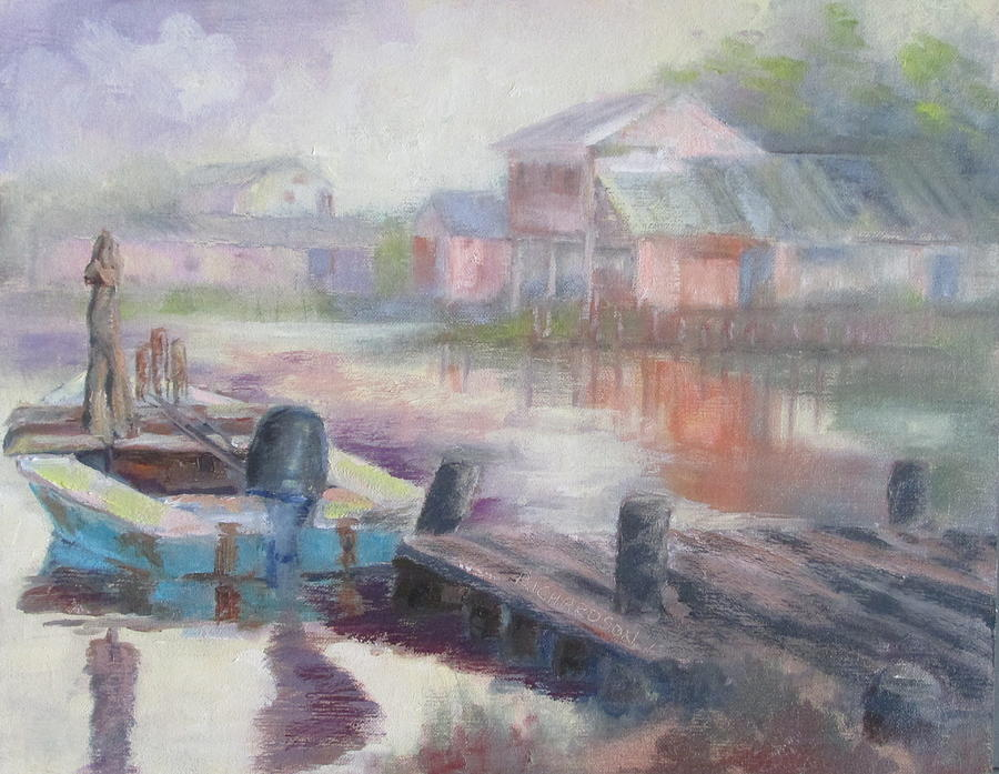 East Point Painting - Quiet Morning In East Point by Susan Richardson
