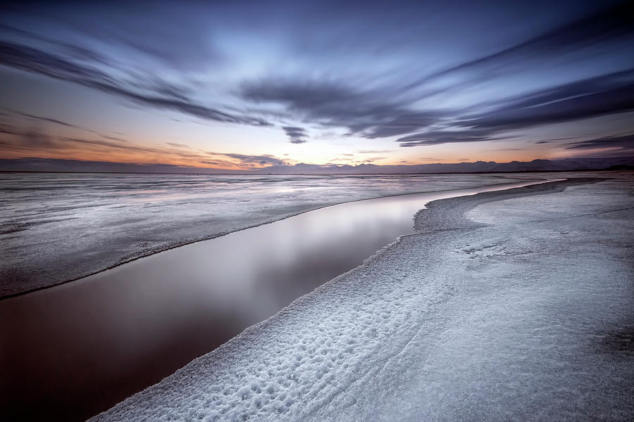 Ice Photograph - Quiet Place by Liloni Luca