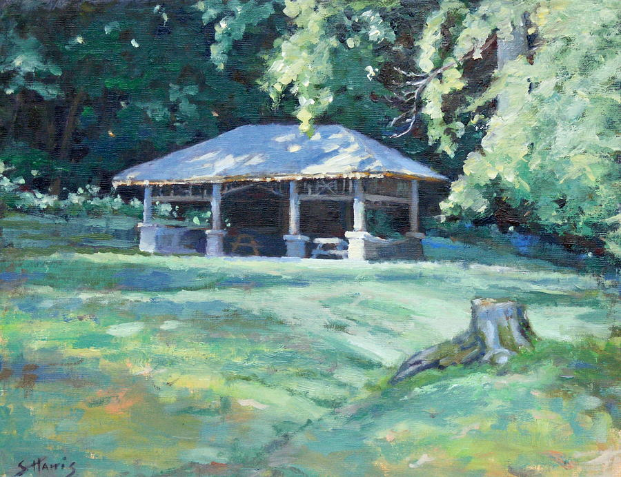 Nashville Painting - Quiet Resting Place by Sandra Harris