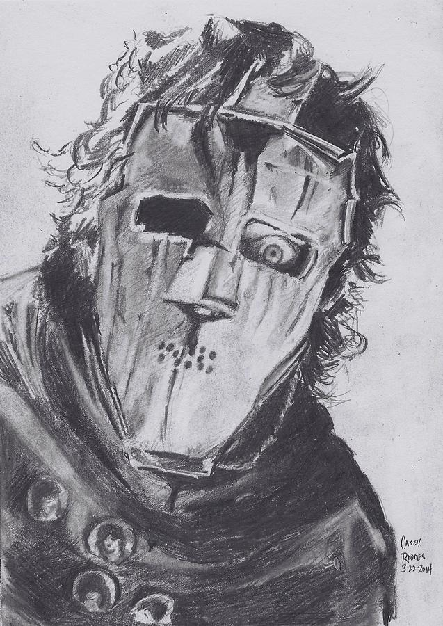 Quiet Riot Drawing By Casey Rhodes