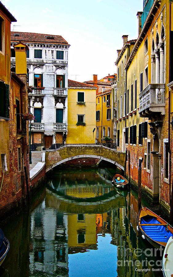 Venice Photograph - Quiet Venice Morning by Scott Kraus