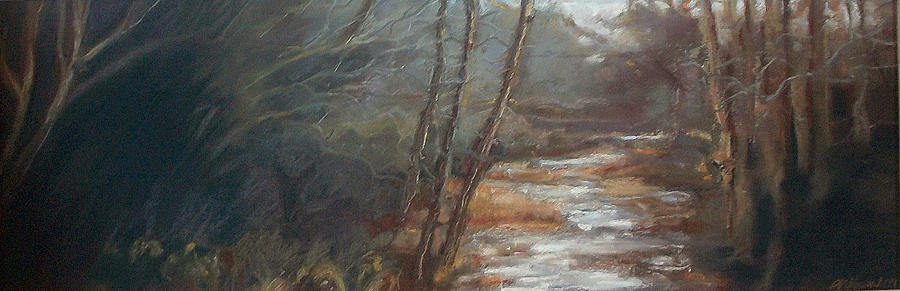 Maine Painting - Quietude by Grace Keown